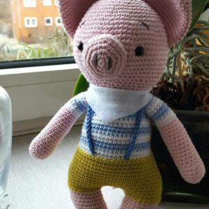 Hæklet gris